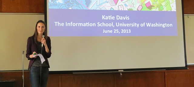 Katie Davis lecture